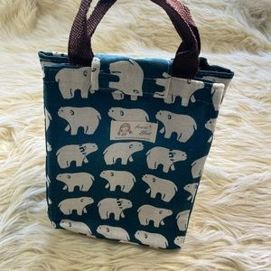Bowei Girl polar bear lunch bag